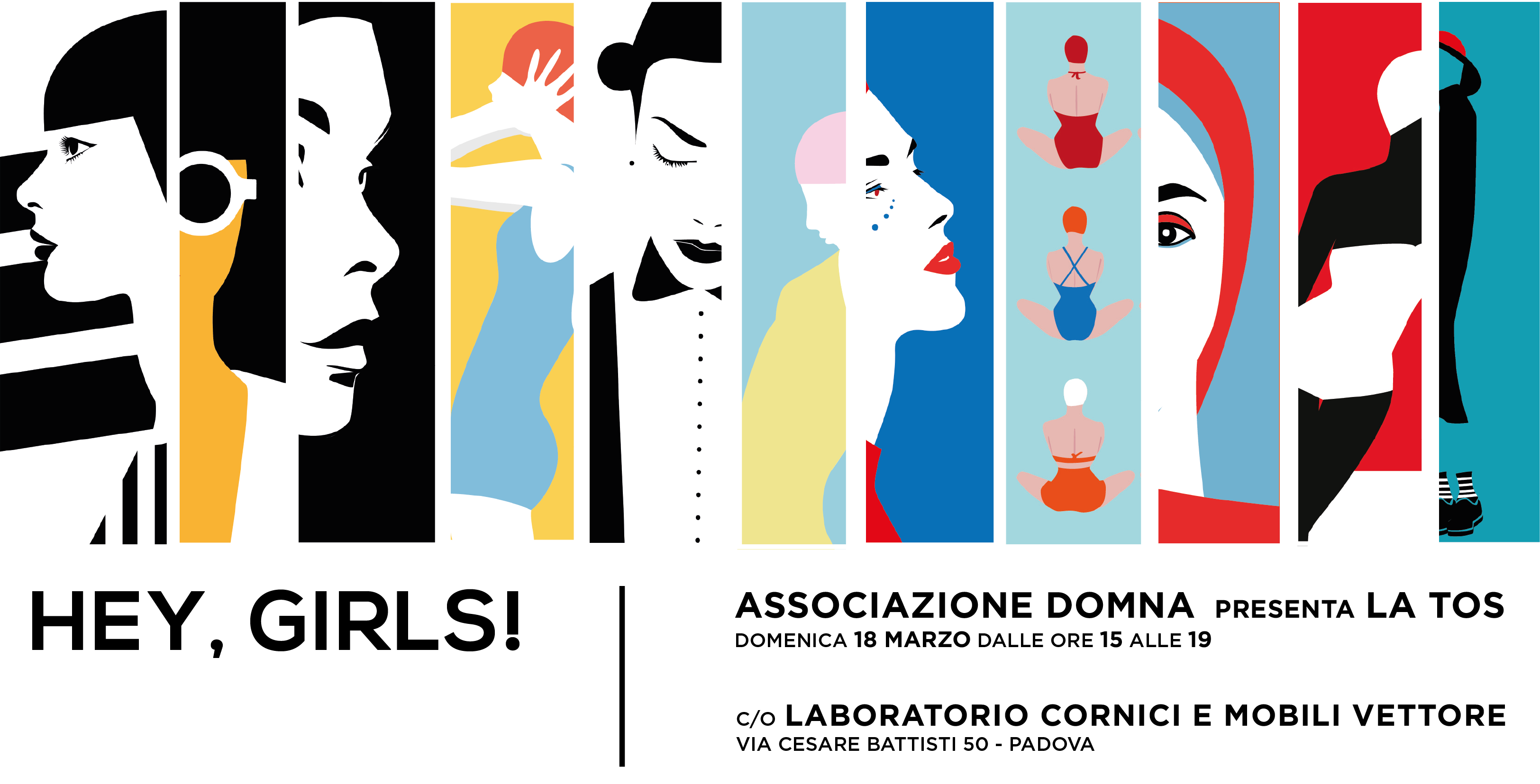 Hey, Girls! <strong>LA TOS in mostra</strong>