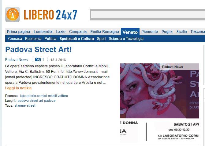LIBERO PADOVA STREET ART